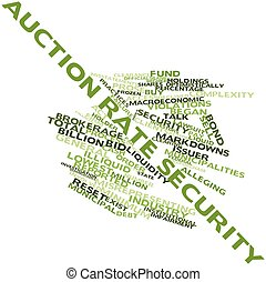 Auction rate security