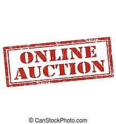 auction-stamp, ligne
