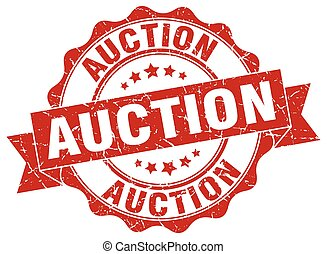 auction stamp. sign. seal