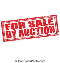 auction-stamp, vente