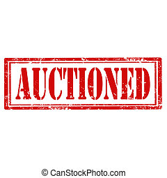 Auctioned-stamp