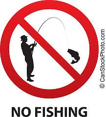 aucune pêche, signe