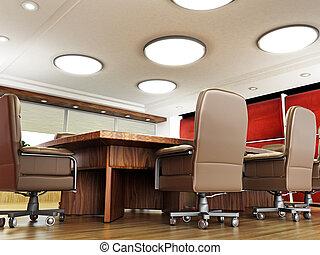 aucuns gens, salle réunion
