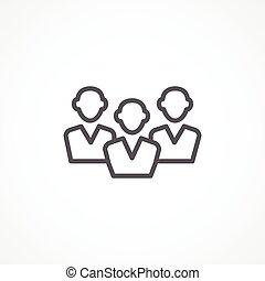 audiência, ícone