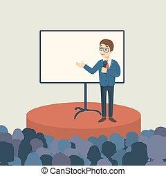 audience., プレゼンテーション, ビジネス