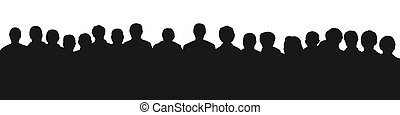 audience, 2, silhouette