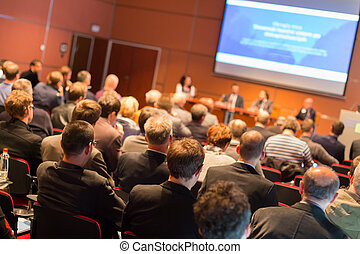 Audience at the conference hall. - Business Conference and...