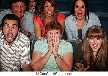 audience, choqué