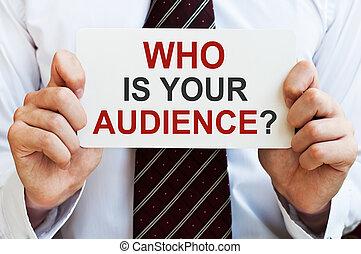 audience, ton