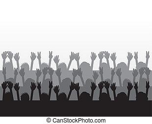 audiencia, concierto
