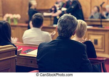 audiencja, urzędnik, ceremony.