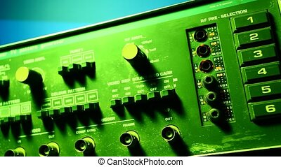 Audio amp mixer