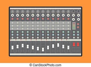 audio analog , αναμικτής