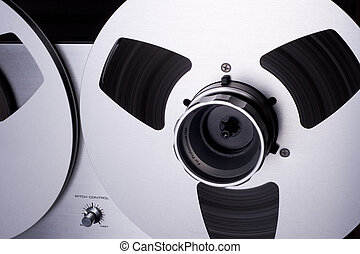 Audio Analog Recording Reels