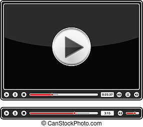 audio video clipart and stock illustrations 18 989 audio video rh canstockphoto com video clipart black and white video clip art images