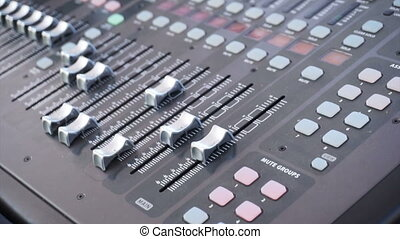 Audio board, soundboard