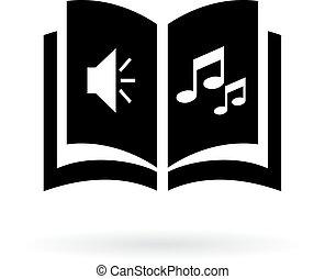 Audio book icon