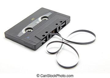 Audio cassette - Isolated audio cassette