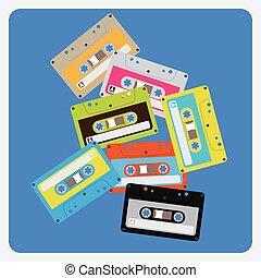 Audio Cassettes Chaotic