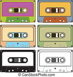 audio, cintas