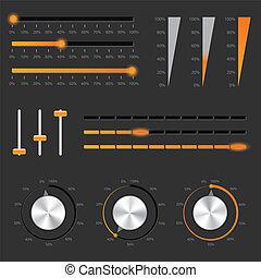 audio, controles