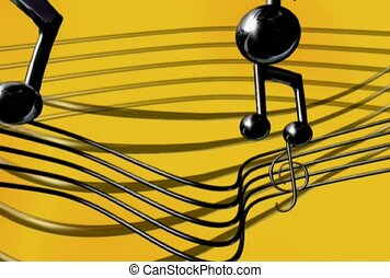 audio, frequency, music note