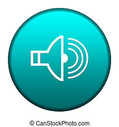 audio, gombol