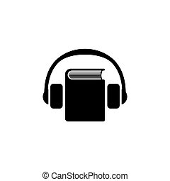 Audio Guide Flat Vector Icon