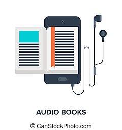audio, libri