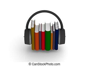audio, livres