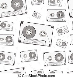 audio, seamless, cassettes