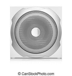 audio, speaker.