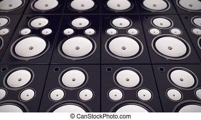 """Audio Speakers background"""