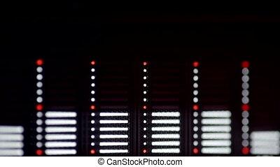 audio, spectre, analyseur