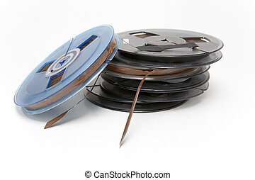 Audio Tapes - Small professional audio tape reels