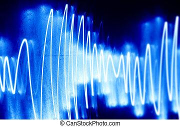 audio, vague