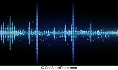 audio waveform equalizer seamless loop