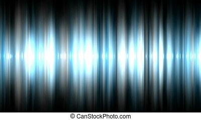 Audio waveform background (seamless loop)