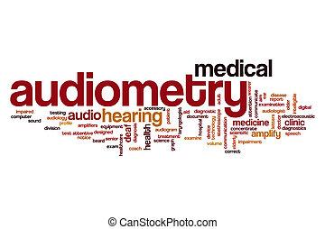 audiometry, palavra, nuvem