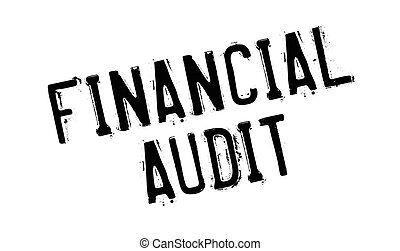 audit, caoutchouc, financier, timbre
