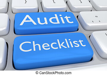 Audit Checklist concept
