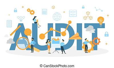 Audit concept animation