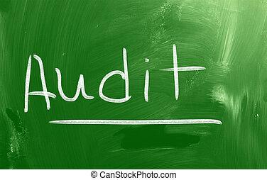 audit, concept