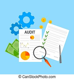 audit concept illustration