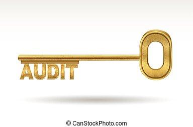 audit - golden key