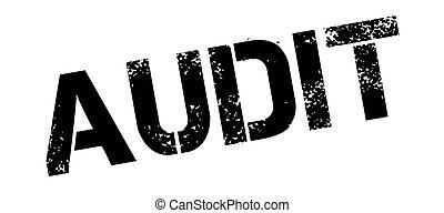 Audit rubber stamp