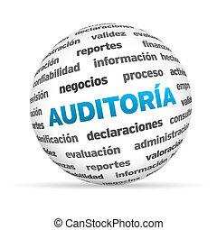 audit, texte, spehere