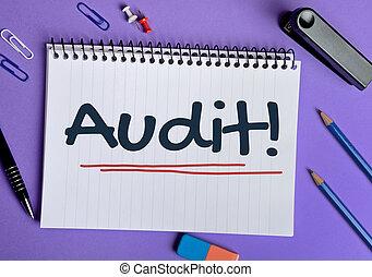Audit word