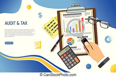 Auditing, Tax process, Accounting Concept - Auditing, Tax...