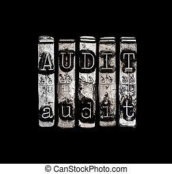 auditoría, concepto